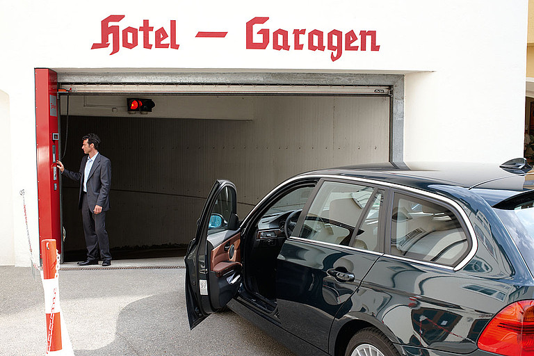 Hotel in Memmingen mit hauseigener Garage