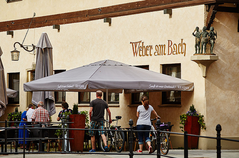Restaurant und Weinstuber Weber am Bach in Memmingen © Weber am Bach